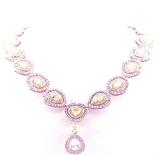 set halo pink gold in pendant dp necklace argyle rose white amazon gia com diamond