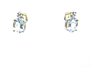 Santa Maria Aquamarine Earrings