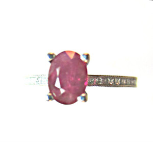 Burma Ruby Tacori Ring