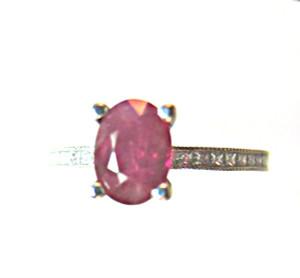 Burma Ruby Tacori Ring