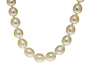 Freshwater Cultured Pearl Necklace (11-12mm)