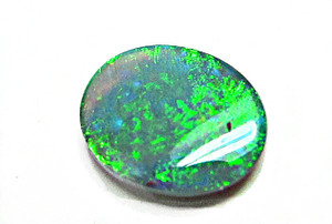 Australian Solid Black Oval Opal - Loose Gemstones