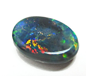 Australian Solid Black Opal Loose Gemstone