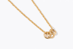Loop de Loop Necklace in Rose Gold