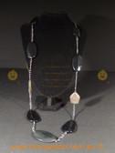Gorgeous long black fashion necklace