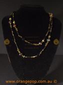 Beautiful mixed beaded fashion necklace