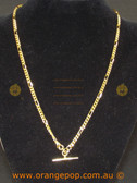 Fine gold chain look necklace