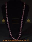 Purple women's necklace