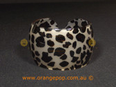 Animal printed women's cuff/ bracelet