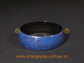 Blue speckled women's cuff