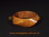 Wooden women's cuff/bracelet