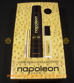 Napoleon Perdis Limited Edition Luxe Gold Colletion-Body Spray, mascara & lipgloss