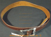 Purr Brown leather look Women's Ladies Fashion Belt