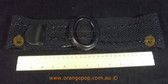 Black woven pattern Women's Ladies Fashion Belt