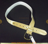 Billabong cream and tan Women's Ladies Fashion Belt