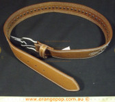 Purr leather look studded Women's Ladies Fashion Belt