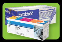 HP / Brother toner cartridge - Image