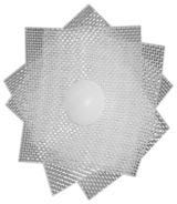 Teflon ® ETFE Patch with Nylon Screw Front