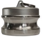MET-80 Cam and Grove Plug Coupling 316 Stainless Steel