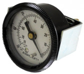 "Vacuum Gauge 30"" Hg (2"" Diameter) U-clamp, 1/8"" Npt"