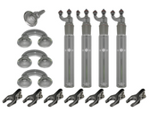 Method 17 Glassware Set