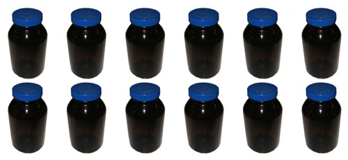 Amber Bottles with Teflon Liner Sample Containers
