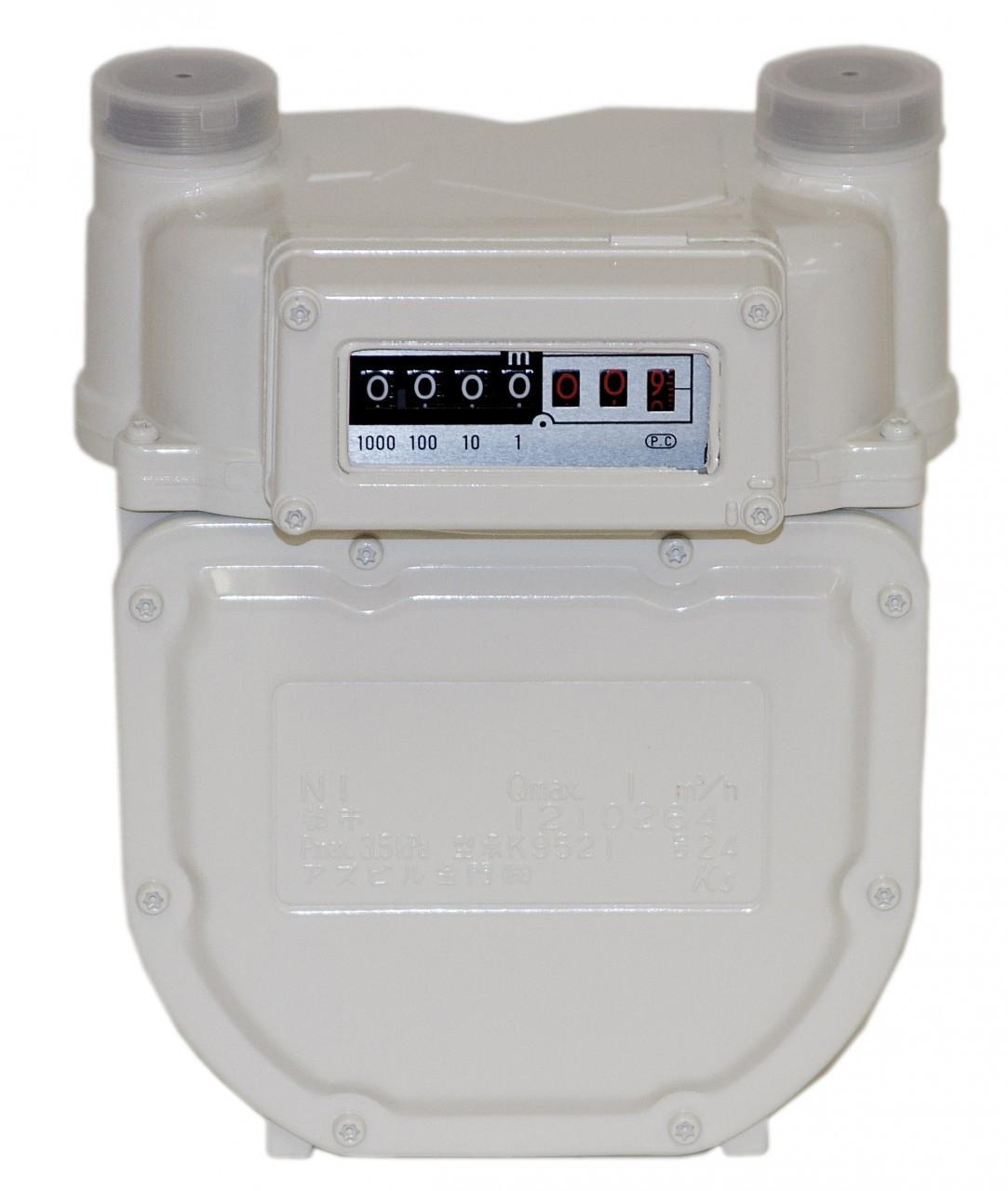 Dry Gas Meter : Kimmon n dry gas meter
