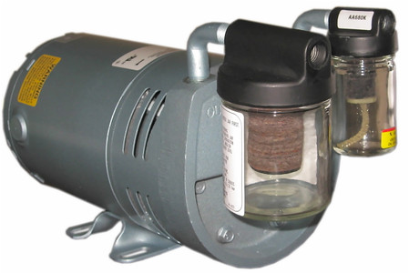 Gast Lubricated Rotary Vane Pump Model 0523 Series