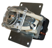 Double Head Peristaltic Pump, 3 Roller Design, 120 Vac Tubing