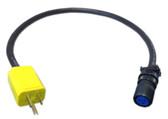 Heated Sample Line Adapter