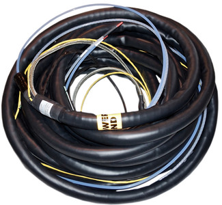 100 Ft Heated Sample Line Messenger Wires