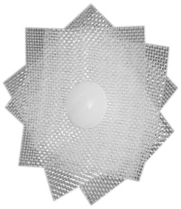 Teflon ETFE Patch with Nylon Screw Front