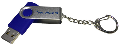 4GB Swivel USB Flash Drive USB 2.0 Memory Stick Opened