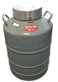 Union Carbide Super 30A Liquid Nitrogen Dewar Cryogenic Tank 30 Liter