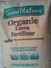 Good Nature Earth Turf Spring Organic Lawn Fertilizer