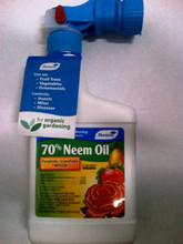 70% Neem OIl Hose End Sprayer.  Natural Fungicide, Insecticide, and Miticide.