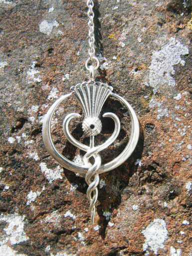 Findhorn Flower Essences Small Pendulum made from gold