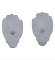 Standard sized electrode pads that come with every portable digital tens unit by Utopia Gear.