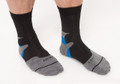 SALE SHORT BLUE/BLACK SOCKS