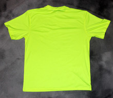 Hi-Vis Yellow Back