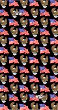 Bald Eagle and USA Flag Hedz