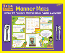 Learn Your Manners Placemats