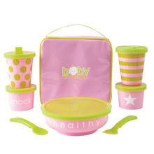 Baby On The Go Snack Set