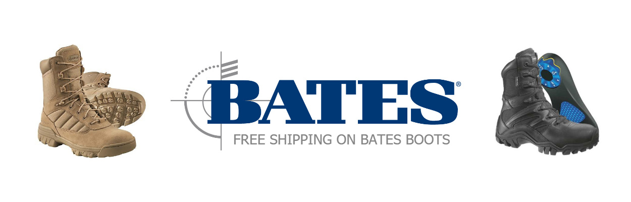 Free Shipping on Bates Boots*