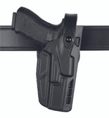 Safariland Model 7280 7TS SLS Mid-Ride, Level II Retention Duty Holster with Light