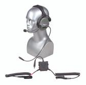 TCI  Liberator III Lite Dual Comm R.3 Headset - Motorola Cable