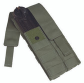 Protech Double UMP 45 Magazine Pouch w/ Molle Attachment