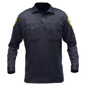 Blauer 8140 Long Sleeve Knit Shirt