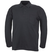 Blauer 8141 Knit Long Sleeve Polo Shirt