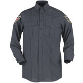 Blauer Long Sleeve Cotton Shirt | 8255